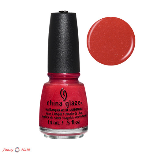 china glaze y'all red-y for this