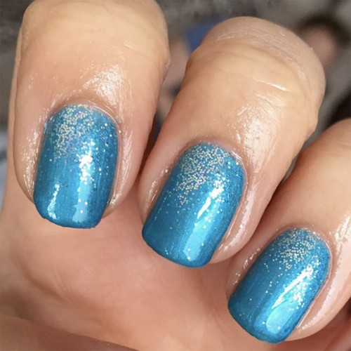 cnd shellac lost labyrinth фото на ногтях