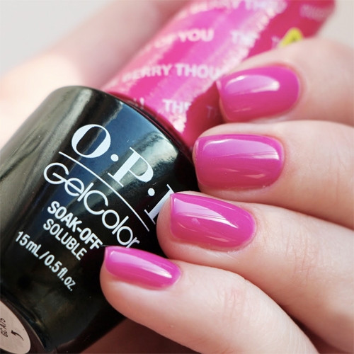 gelcolor the berry thought of you фото на ногтях