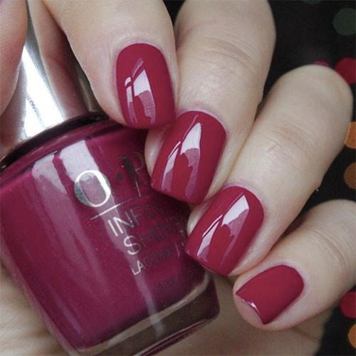 gelcolor miami beet фото на ногтях