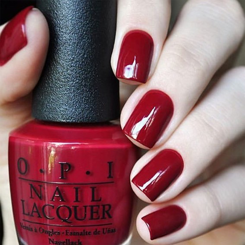 gelcolor chick flick cherry фото на ногтях