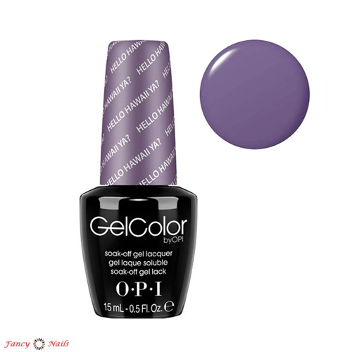gelcolor hello hawaii ya