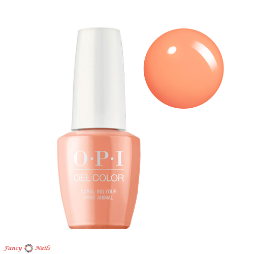 gelcolor coral-ing your spirit animal
