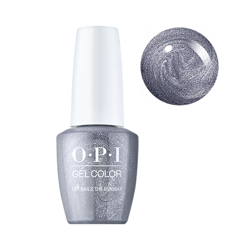opi gelcolor opi nails the runway
