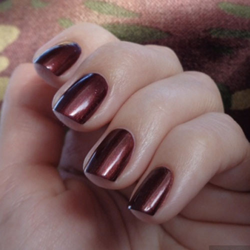 opi gelcolor romeo and joliet фото на ногтях