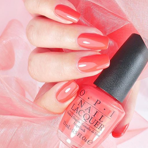 gelcolor i eat mainely lobster фото на ногтях