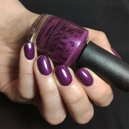 opi i'm in the moon for love фото на ногтях