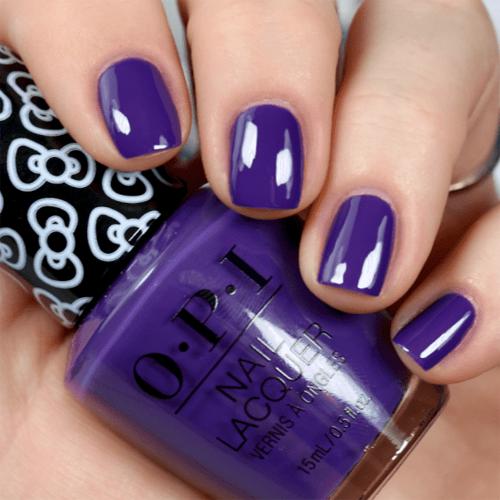 opi hello pretty фото на ногтях