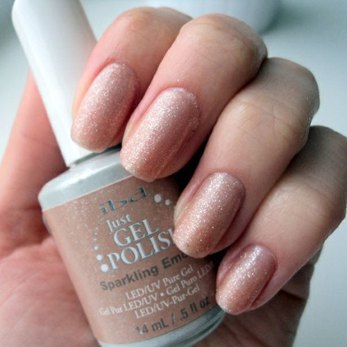 ibd sparkling embers фото на ногтях