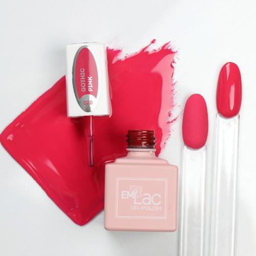 emilac 020 готический розовый 9 мл цвет