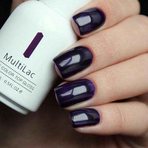 multilac 2333 tanzanite фото на ногтях