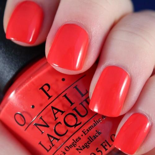 opi aloha from opi фото на ногтях