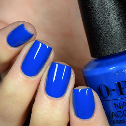 opi mi casa es blue casa фото на ногтях