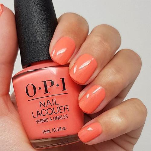 infinite shine orange you a rock star фото на ногтях