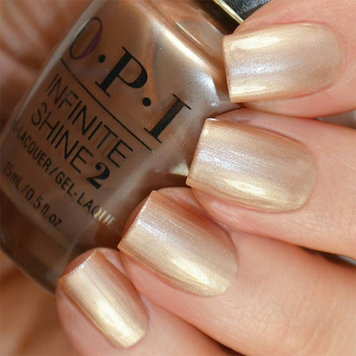 opi cosmo-not tonight honey фото на ногтях