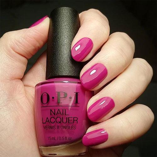 opi hurry-juku get this color фото на ногтях
