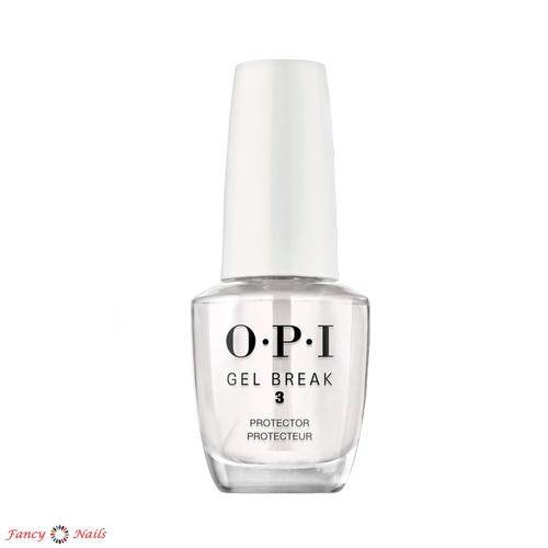 <p>OPI Gel Break - трехступенчатая профессиональная система восстановления ногтей. Помогает ослабленным и поврежденным ногтям, в том числе, если ногти были повреждены неправильным удалением гель лака. Система включает в себя базовое покрытие (фаза 1), кам