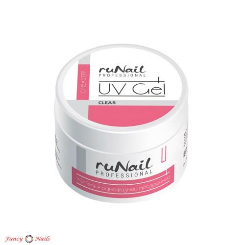 runail one step gel clear 15 г