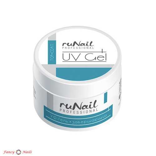 runail uv gel top coat 15 г