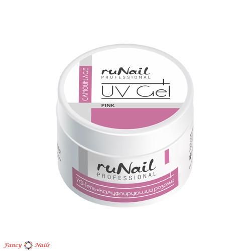 runail uv gel pink 15 г