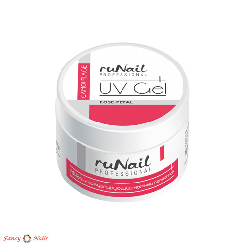 runail uv gel rose petal 15 г