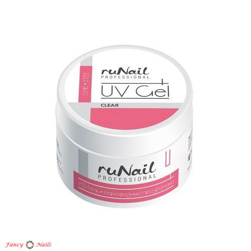 runail one step gel clear 30 г
