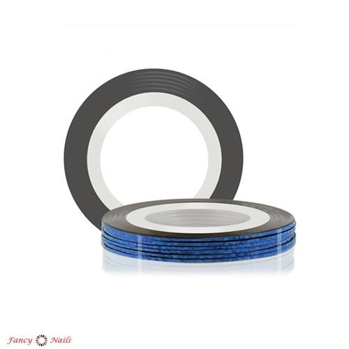 лента для дизайна ногтей синяя