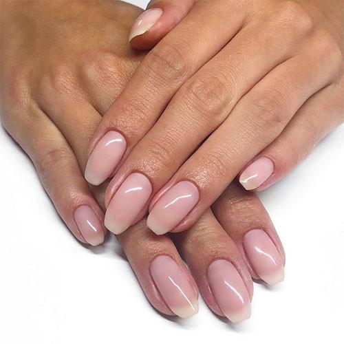 vinylux 142 romantique фото на ногтях