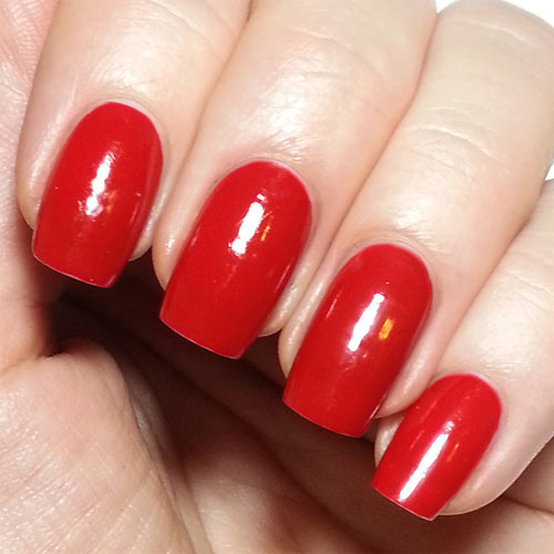 vinylux 143 rouge red фото