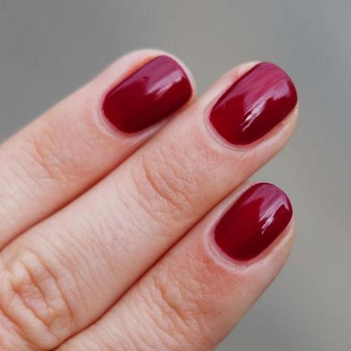 vinylux 153 tinted love фото на ногтях