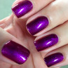 gelish berry buttoned up 15 мл фото на ногтях