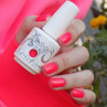 gelish hip hot coral 15 мл фото на ногтях