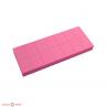 runail набор мини бафов 100 180 грит 14 шт розовый
