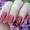 ibd cosmic red фото на ногтях