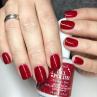 ibd just gel polish cosmic red фото на ногтях