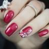 ibd just gel polish scarlet obsession фрир на ногтях