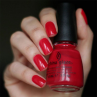china glaze italian red фото на ногтях