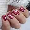 china glaze chillin with my snow-mies фото на ногтях