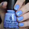 china glaze boho blues фото на ногтях