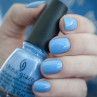 china glaze boho blues фото на ногтях