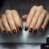 vinylux 306 phantom фото на ногтях