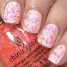 china glaze let the beat drop фото на ногтях