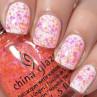 china glaze let the beat drop фото на ногтях
