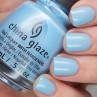 china glaze don't be shallow фото на ногтях
