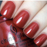 china glaze y'all red-y for this фото на ногтях