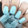 cnd creative play аmuse-mint на ногтях