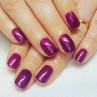 cnd shellac tango passion фото на ногтях