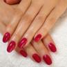cnd shellac rose brocade фото на ногтях