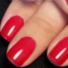 cnd shellac rose brocade на ногтях