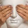 opi gelcolor falling for milan фото на ногтях